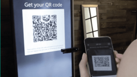 Easy to Share with QR code and mobile app